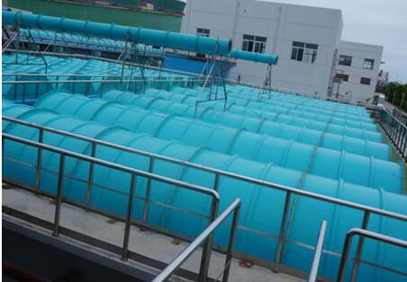 污水池加盖、收集、除臭处理